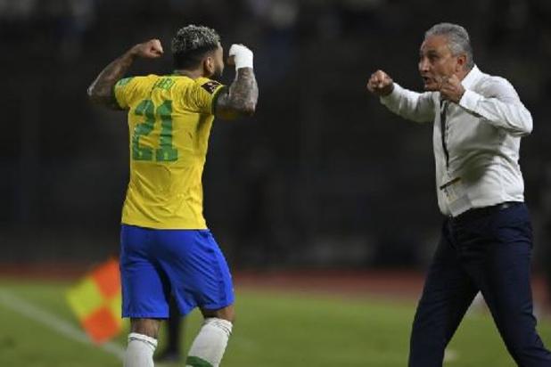 Le Brésil fait un pas de plus vers le Qatar, l'Argentine accrochée au Paraguay