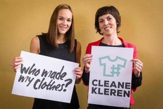 Brusselse Wetstraat omgedoopt tot Ketenzorgwetstraat in strijd voor eerlijke kledij