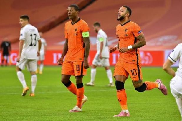 Euro 2020: avec Depay et Wijnaldum, les Pays-Bas font profil... haut
