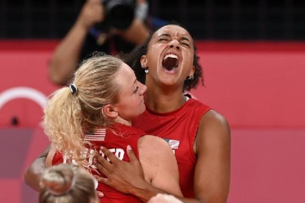 JO 2020 - Les volleyeuses américaines battent le Brésil et s'offrent leur première médaille d'or