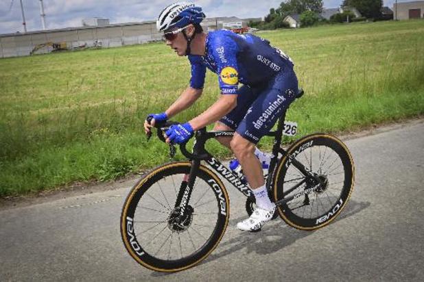 Heistse Pijl - Yves Lampaert had niet de ideale eindsprint in de benen