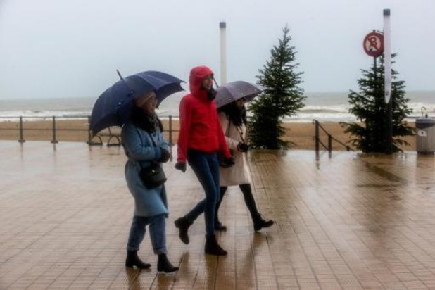 Météo - Un menu météo entre nuages, pluie et vent