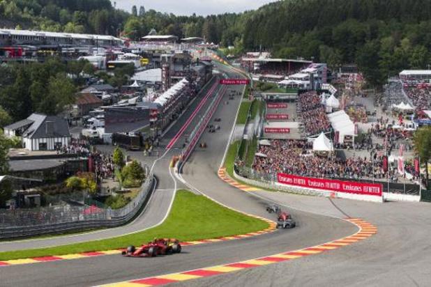 Le Grand Prix de Belgique de F1 se tiendra le 30 août à huis clos