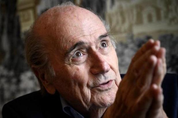 Blatter confirme qu'il a quitté la présidence de la FIFA sous la pression américaine