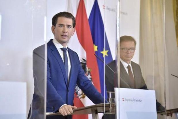L'Autriche décrète trois jours de deuil national