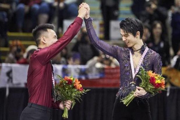 Skate Canada - Yuzuru Hanyu duldt geen tegenstand in Canada