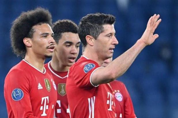 Champions League - Bayern wint vlot bij Lazio, Atletico thuis onderuit tegen Chelsea