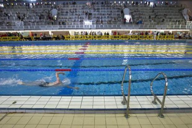 Les compétitions de natation suspendues jusque fin juin en Belgique