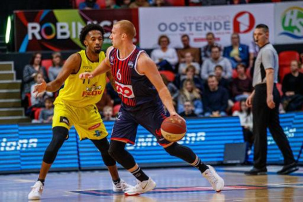 Champions League basket (m) - Oostende heeft twee verlengingen nodig om Polski Cukier Torun te kloppen