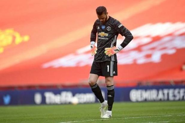 FA Cup - Chelsea voorbij Manchester United naar finale FA Cup na twee flaters van De Gea