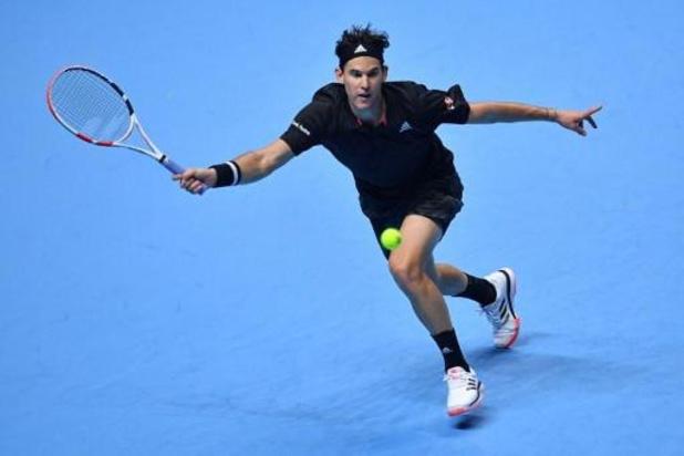 ATP Finals - Dominic Thiem s'impose face à Stefanos Tsitsipas en ouverture des Masters
