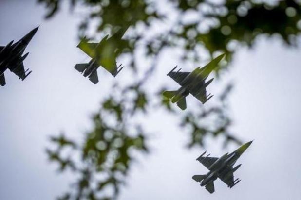Kamercommissie spreekt zich dinsdag uit over inzet Belgische F-16's in Irak en Syrië