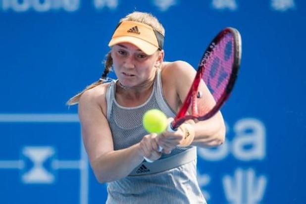 """La Kazakhe Rybakina, adversaire de Minnen: """"Petite, mon idole était Justine Henin"""""""