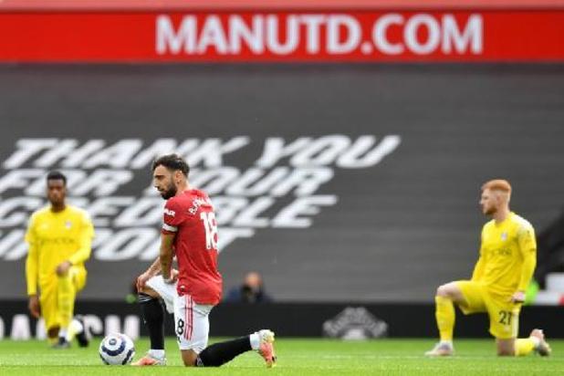 Premier League - Les joueurs continueront de mettre un genou à terre cette saison