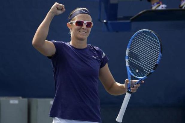 WTA Moskou - Kirsten Flipkens naar halve finales dubbelspel