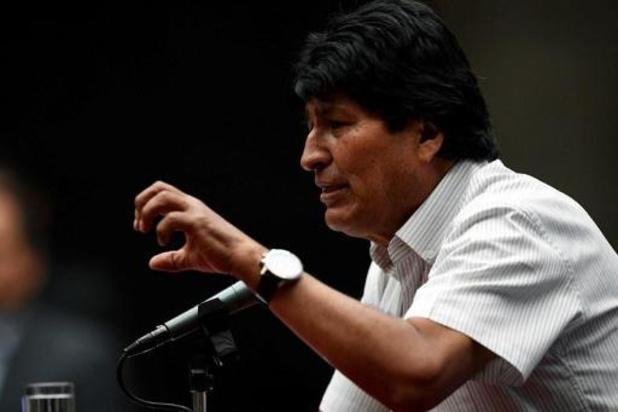 """Si Evo Morales revient en Bolivie, il devra """"répondre devant la justice"""""""