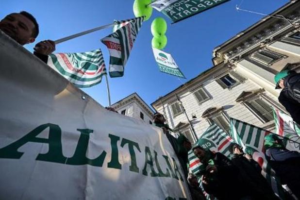 Opnieuw staking bij Alitalia