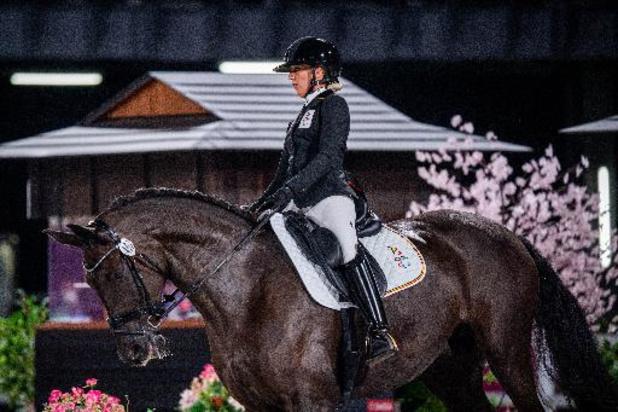Manon Claeys verovert in vrije kür tweede bronzen medaille