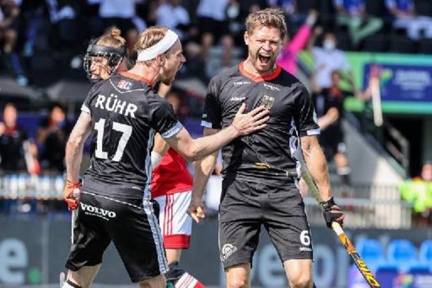 L'Allemagne, vainqueur 3-2 de l'Angleterre, premier finaliste masculin