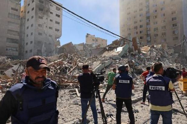 La presse étrangère dénonce la destruction par Israël des locaux d'AP et Al-Jazeera