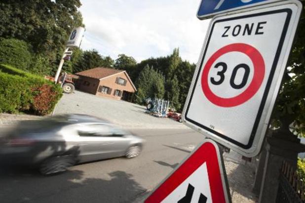 """""""Zone 30 veralgemenen in onveilige straten, niet in hele bebouwde kom"""""""