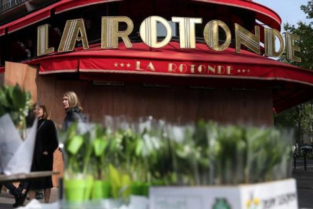 Brand in beroemde Parijse restaurant la Rotonde