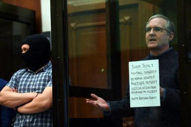 Russie: l'Américain Paul Whelan condamné à 16 ans de prison pour espionnage
