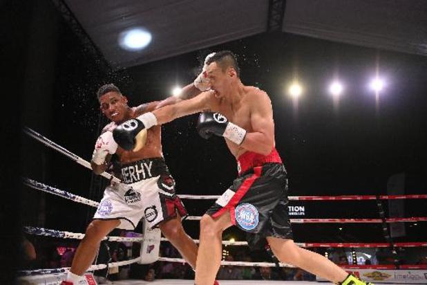 Championnat du monde WBA lourds-légers - Ryad Merhy trop fort pour Zhaoxin Zhang, trop inexpérimenté