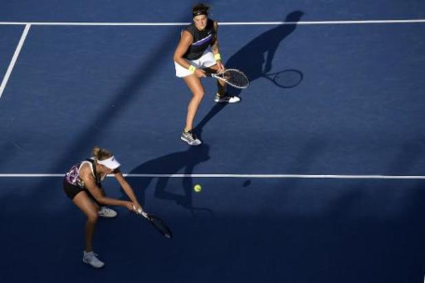 Mertens et Sabalenka éliminées aux portes des demies de WTA