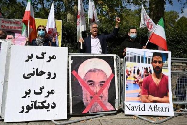 Iran zegt worstelaar Navid Afkari te hebben geëxecuteerd: protestactie in Brussel