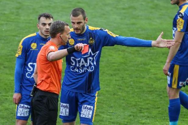 Vukotic (Waasland-Beveren) risque deux matchs effectifs de suspension