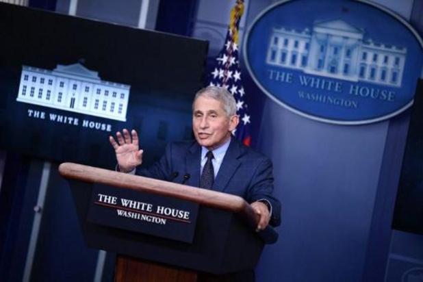 """Transitie Biden - Biden heeft Fauci gevraagd om deel uit te maken van zijn """"COVID-team"""""""