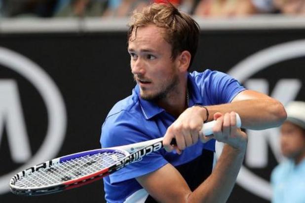 US Open - Daniil Medvedev staat in halve finales