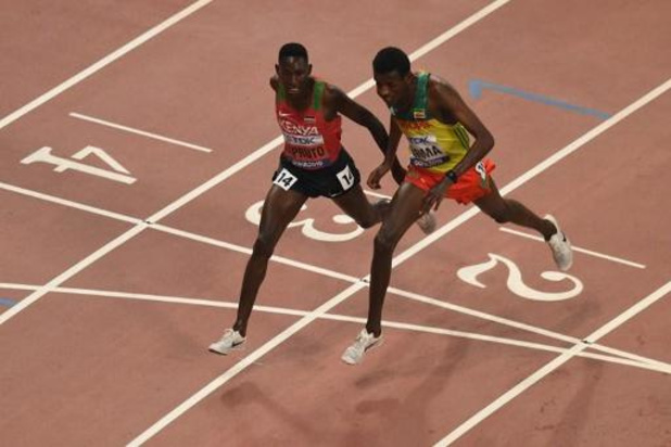 Mondiaux d'athlétisme - Le Kényan Kipruto conserve de justesse son titre sur 3000 m steeple