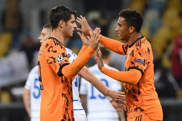 Ligue des Champions - Sans Ronaldo, la Juve s'impose à Kiev grâce à un doublé de Morata