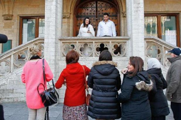 Les mariages et les enterrements à nouveau en très petits comités à Bruxelles