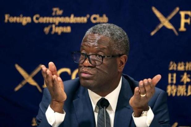 RDC: mesures de protection pour le prix Nobel Mukwege, menacé de mort
