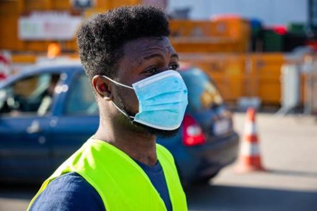 Une solution wallonne pour stériliser les masques à grande échelle