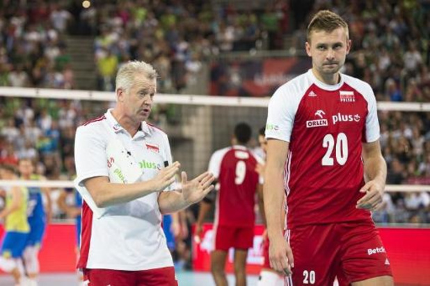 EK volley (m) - Slovenië verspert Polen en Vital Heynen weg naar finale