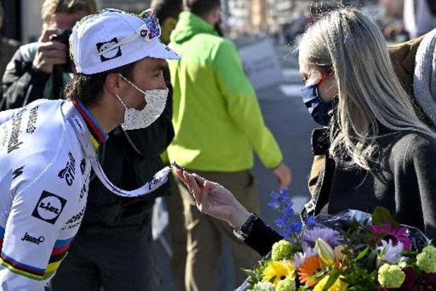 """Ronde van Zwitserland - Alaphilippe vertrekt naar huis: """"Kan niet wachten om Marion en baby te zien"""""""