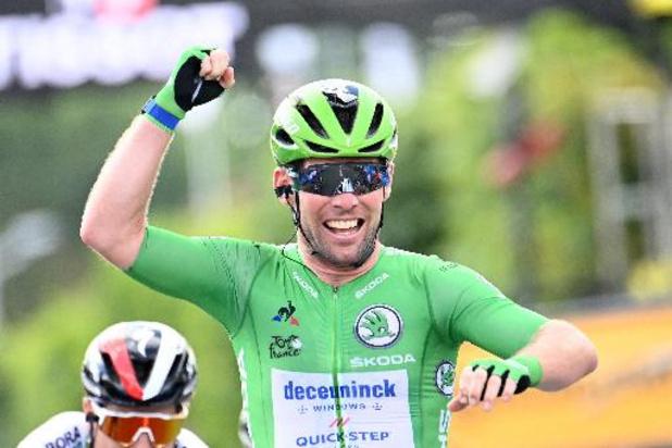 """Cavendish op 2 zeges van ritrecord: """"Win ik nooit meer, dan is dat zo"""""""