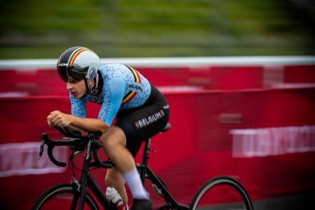 Tim Celen médaillé d'argent de la course sur route en paracyclisme, la 13e médaille belge