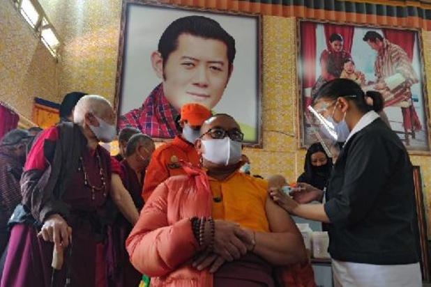 Bhutan snelst vaccinerende land ter wereld