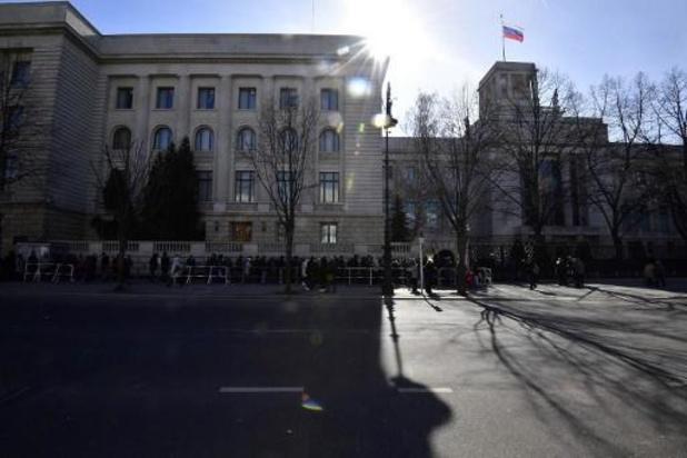 Duitsland wijst twee Russische diplomaten uit