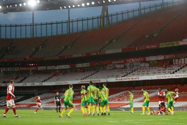 Premier League - West Bromwich relégué en Championship après une saison en Premier League