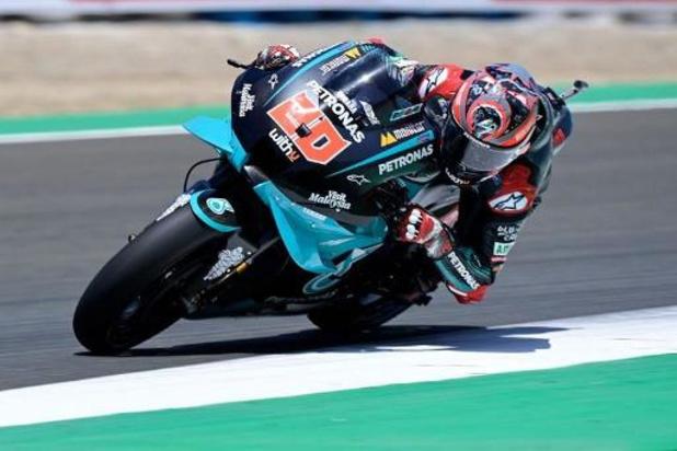 MotoGP : victoire autoritaire de Fabio Quartararo qui fait le doublé à Jerez, triplé Yamaha