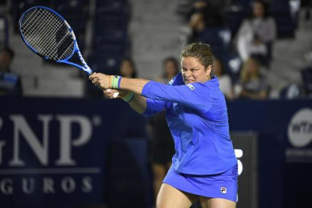 Kim Clijsters gagne un simple et deux doubles vendredi