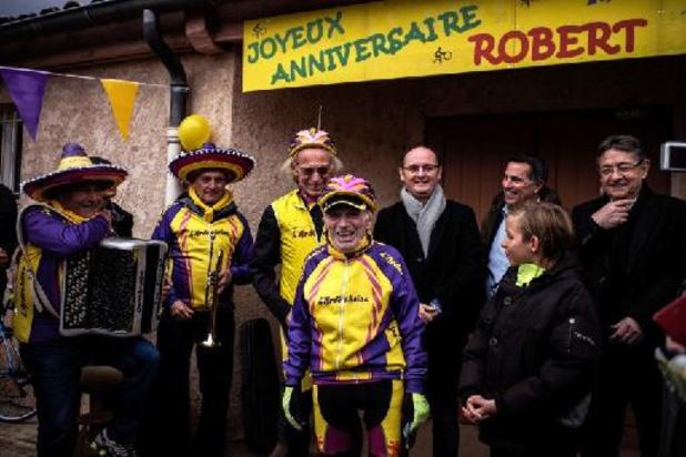 """Robert Marchand, """"ouderdomsdeken van de wielrennerij"""", sterft op 109-jarige leeftijd"""