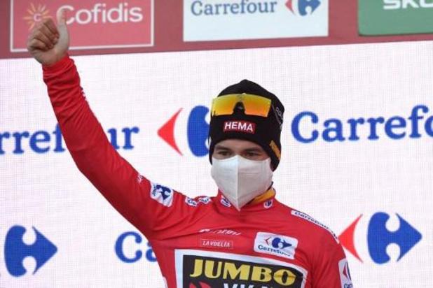"""Roglic à nouveau en rouge grâce à son 4e succès d'étape: """"Je me sentais étonnamment fort"""""""