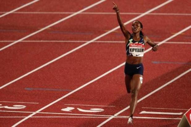 Mémorial Van Damme - La championne olympique Kipyegon à l'assaut du record du monde du 1.000m, Nafi absente